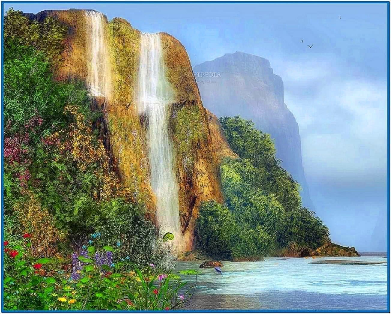 Moving Waterfall Screensavers Mac