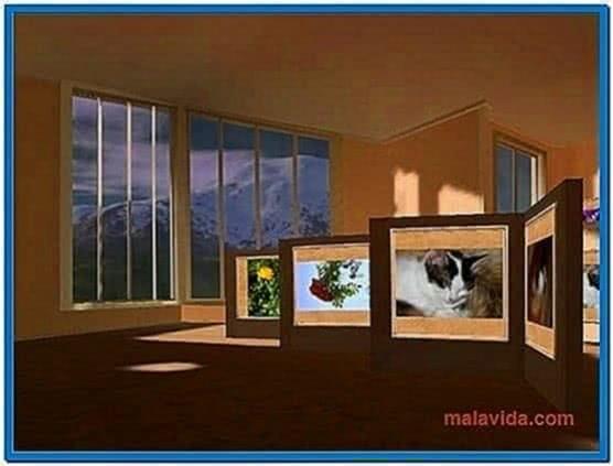 My Pictures 3D Screensaver Deutsch