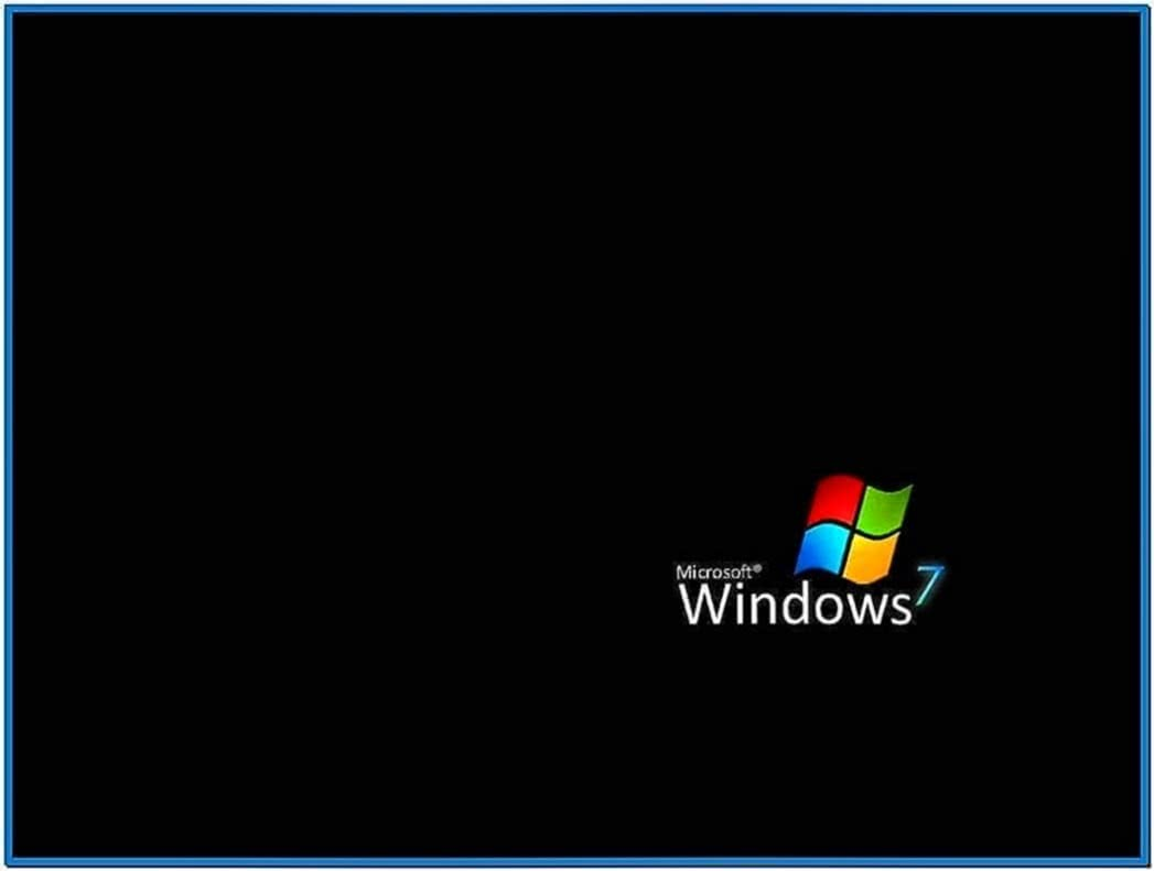 My Pictures Screensaver Windows 7