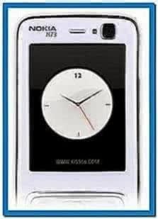 N73 flash screensaver