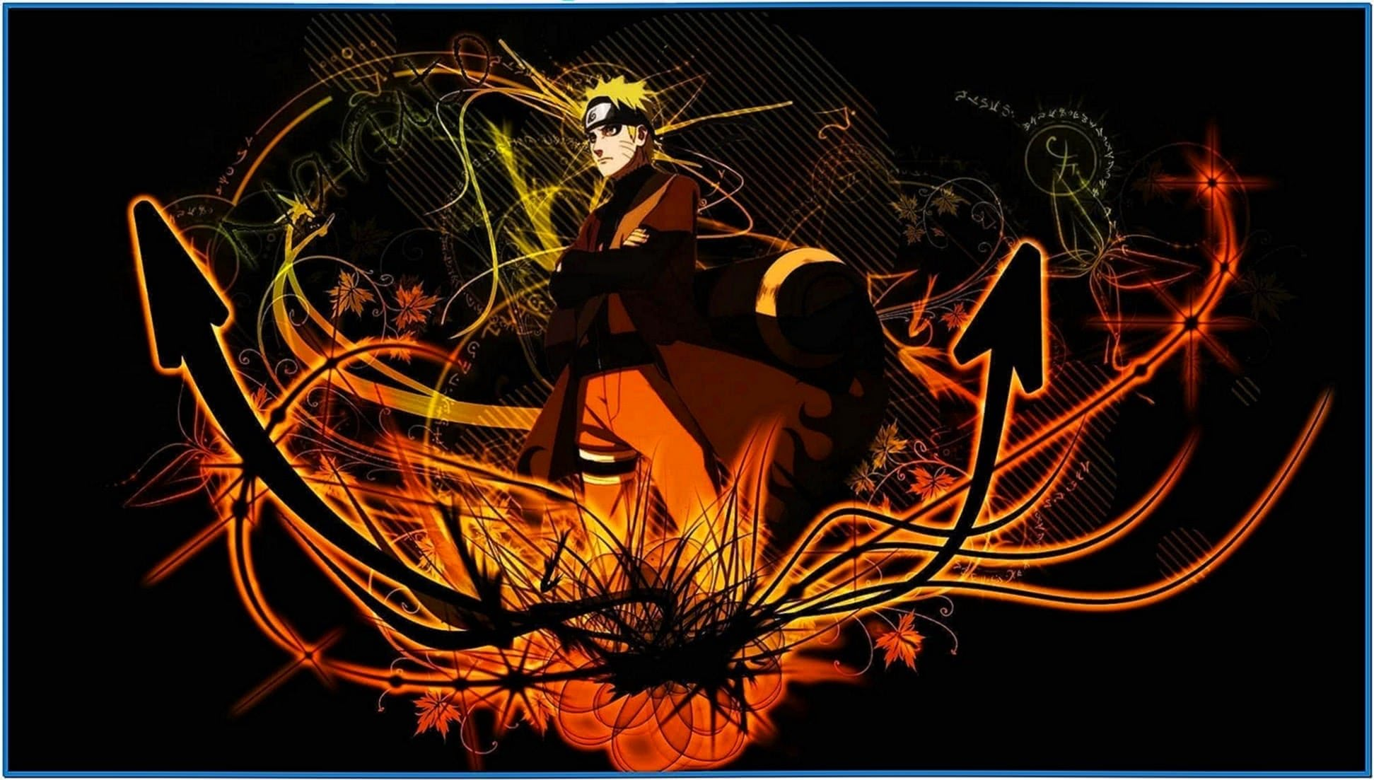 Naruto anime screensaver