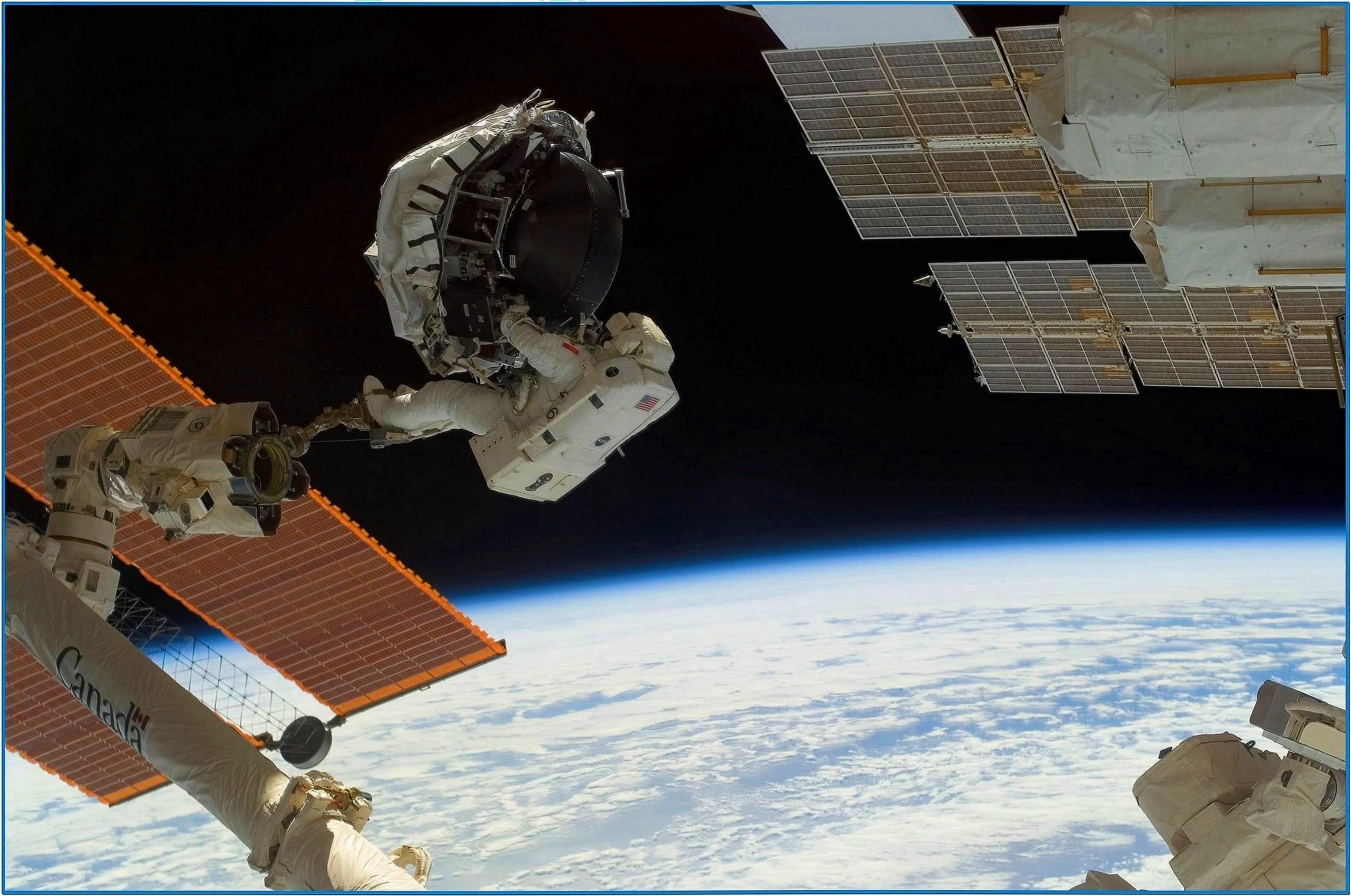 Nasa space images screensaver