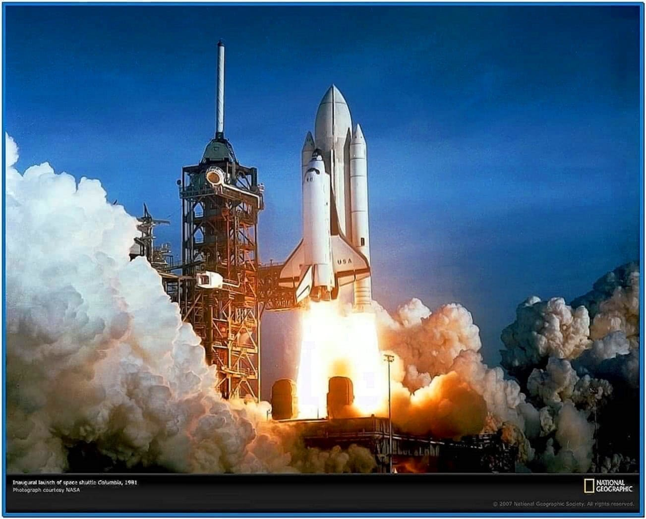 Nasa Space Shuttle Screensaver