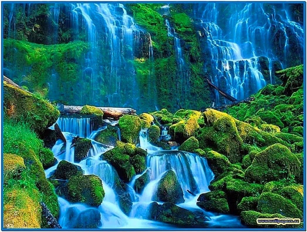 Natural Waterfall Screensaver