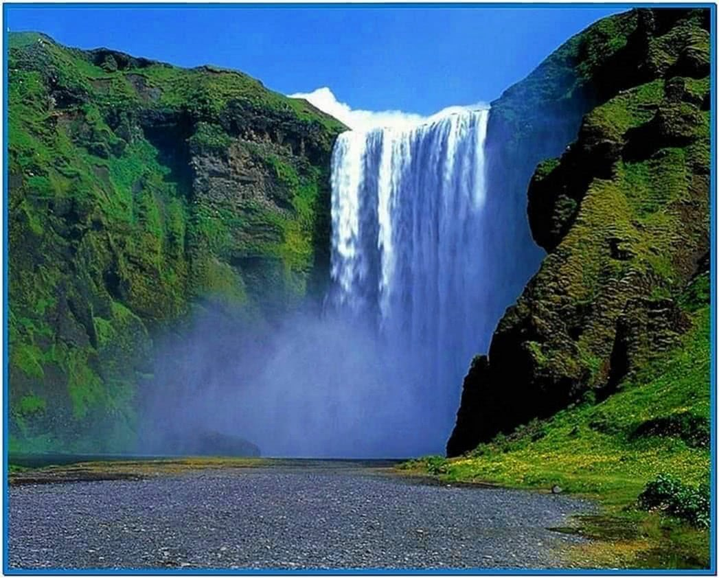 Natural Waterfall Screensaver