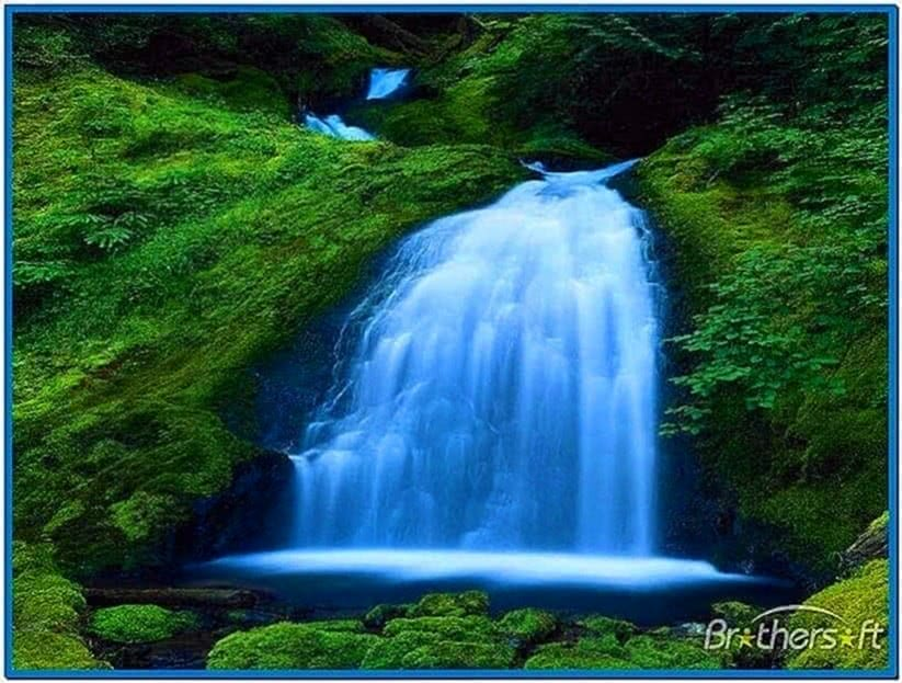 Natural Waterfalls Screensaver
