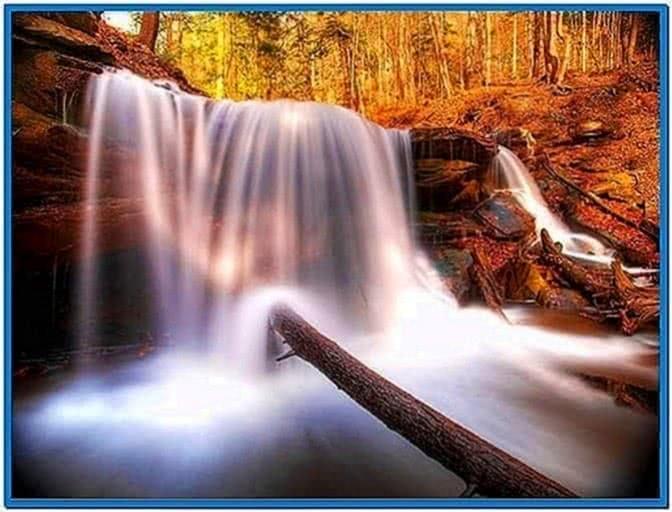 Natural Waterfalls Screensaver