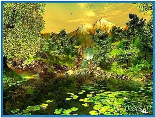 Nature 3D screensaver 1.1