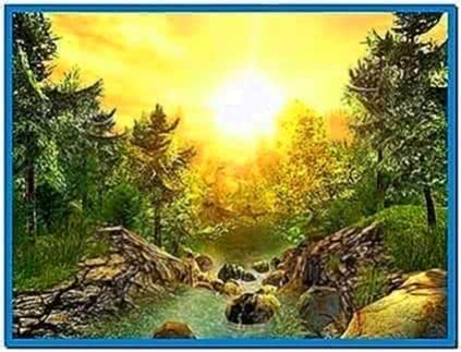 Nature 3D Screensaver 1.1.0.8