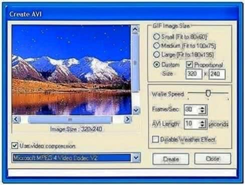 Nature Illusion Screensaver Engine Program