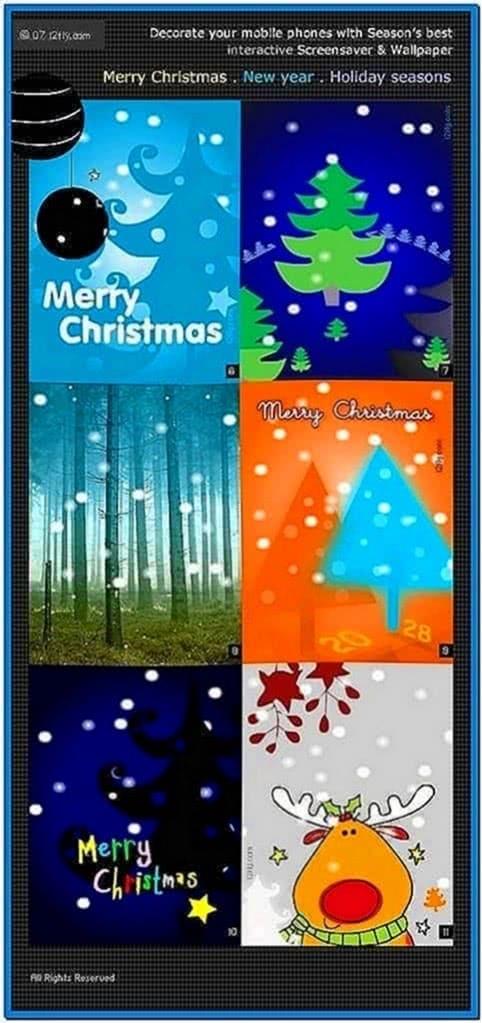 New Christmas Wallpaper Screensaver