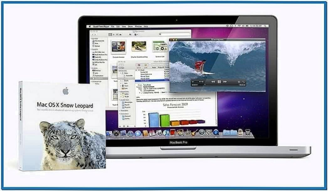 New England Snow Screensaver Mac