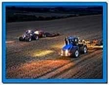New Holland Combine Screensaver
