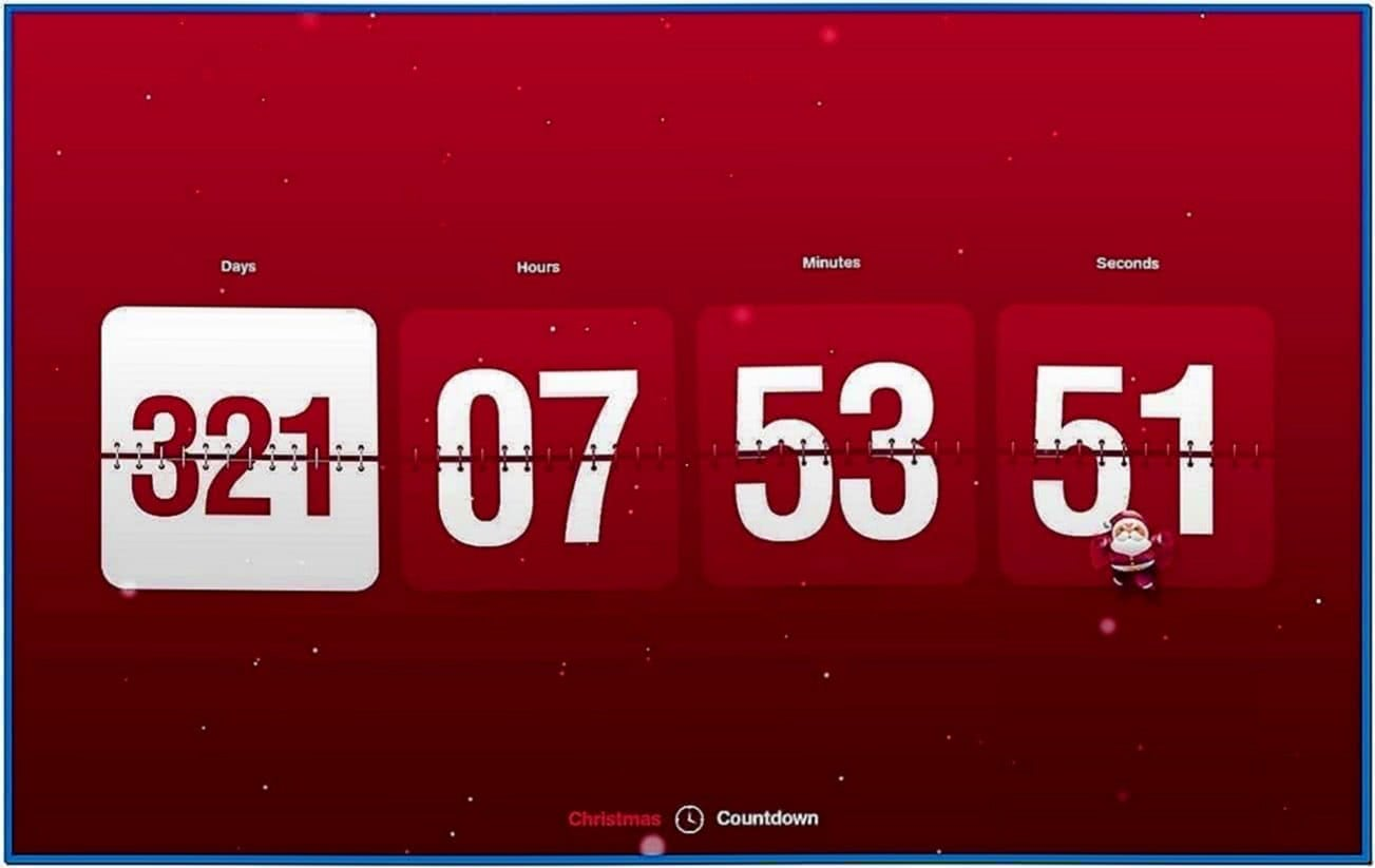 New Year Countdown and Clock Screensaver 1.0