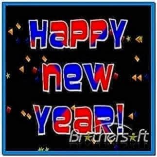 New Year Countdown Screensaver Freeware