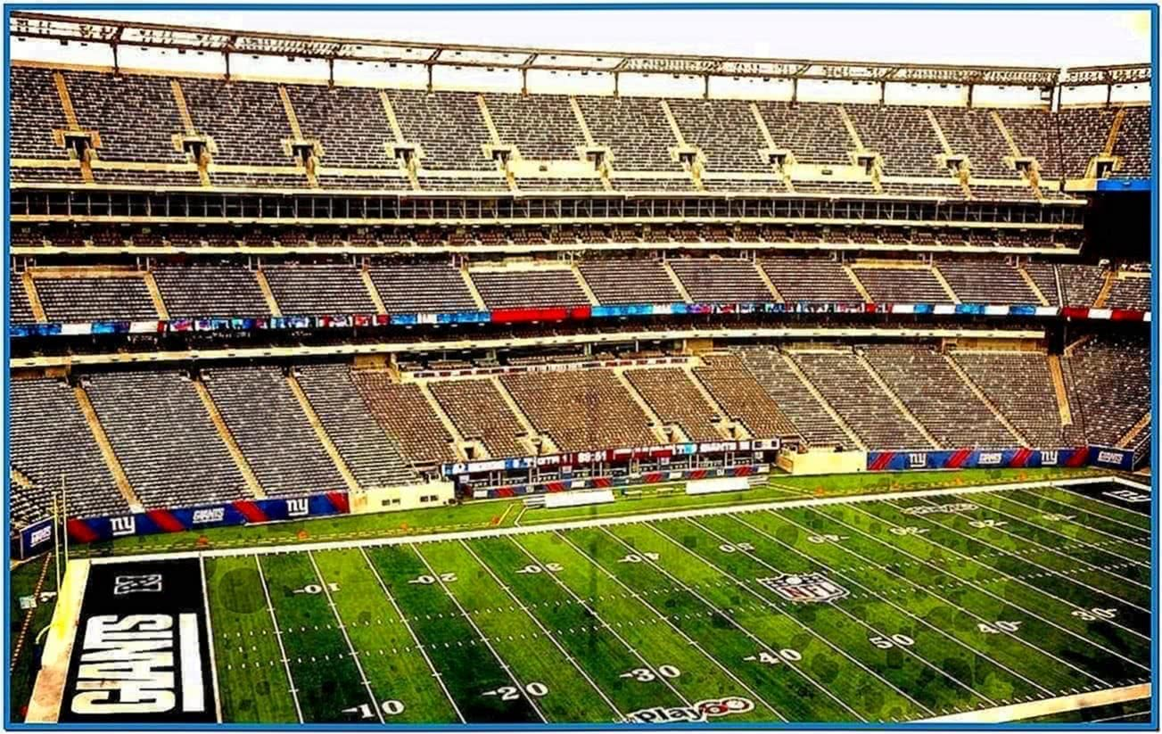 New York Giants Mac Screensaver