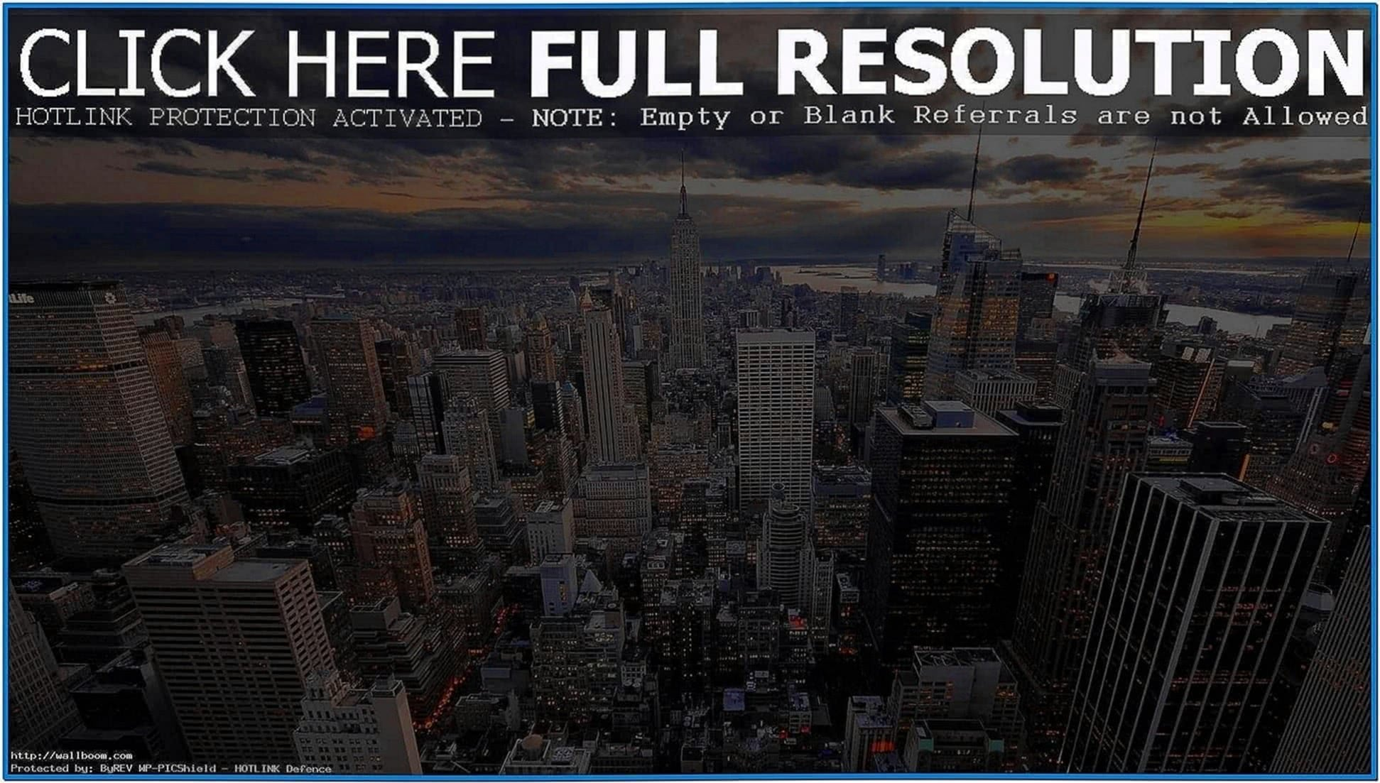 New york screensaver Windows 7