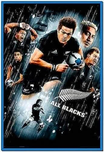 New Zealand All Blacks Screensaver