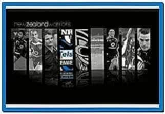New Zealand Warriors Screensaver