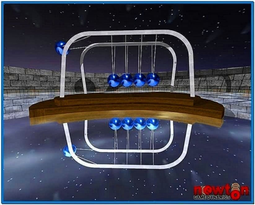 Newtons Cradle Screensaver