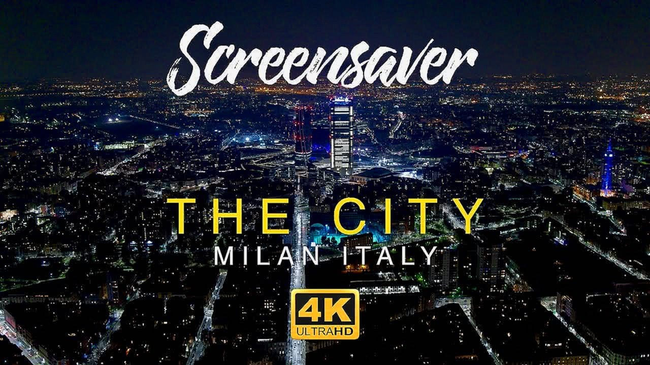 Milan Italy 4K Relaxing Screensaver