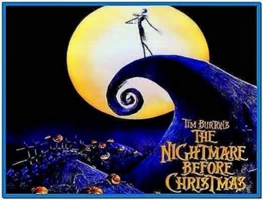 Nightmare before christmas animated screensaver - Download free