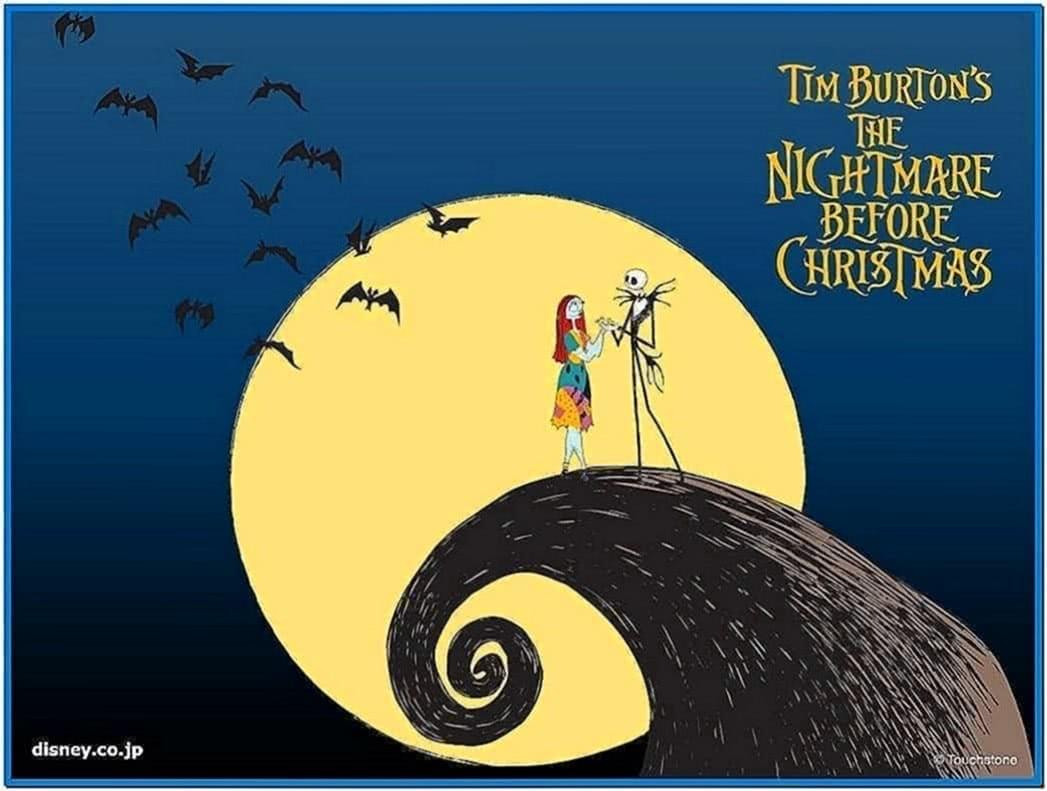 Nightmare Before Christmas Screensaver
