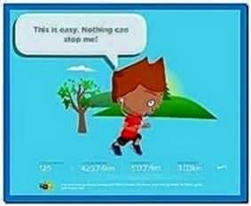 Nike Mini Screensaver