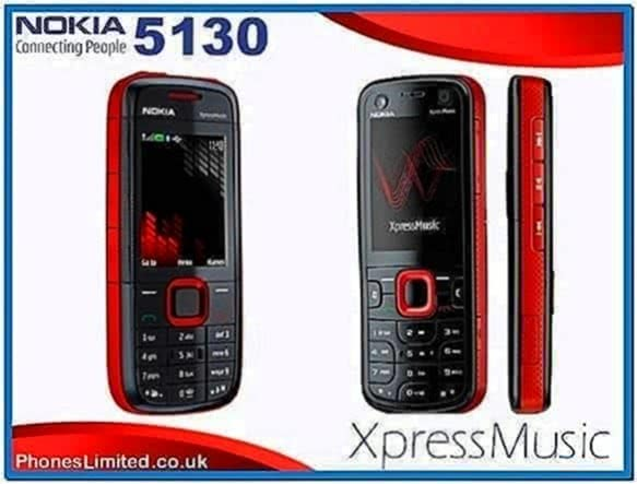 Nokia 5130 Xpressmusic Screensavers