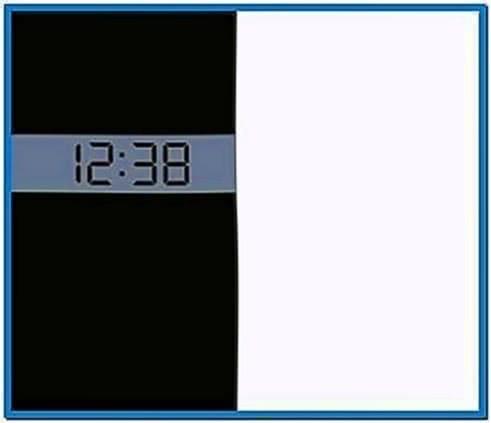 Nokia 5800 Clock Screensaver Software