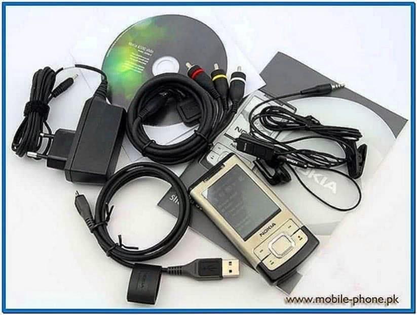 Nokia 6500 Slide Screensaver