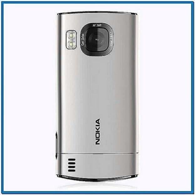 Nokia 6700 Slide Clock Screensaver