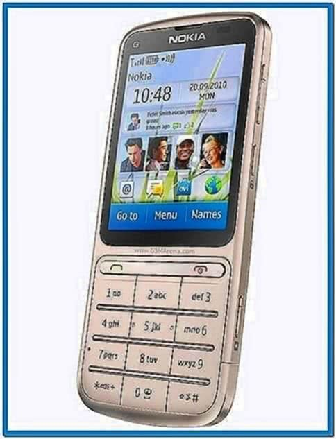 Nokia C3-01 Screensaver
