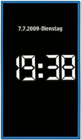 Nokia clock screensaver android