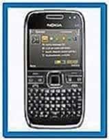 Nokia E72 Screensavers