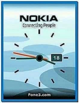 Nokia Flash Screensaver