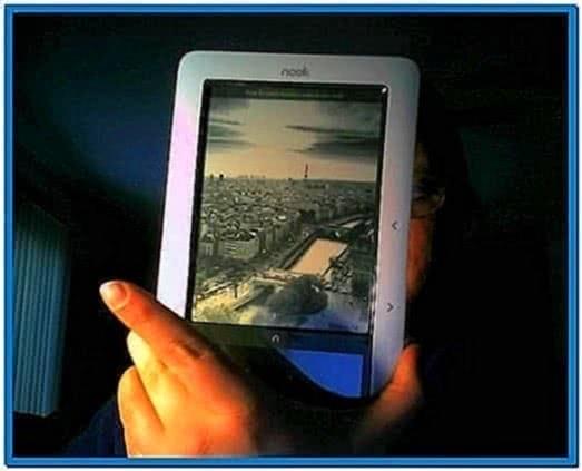 Nook Screensaver Cityscapes