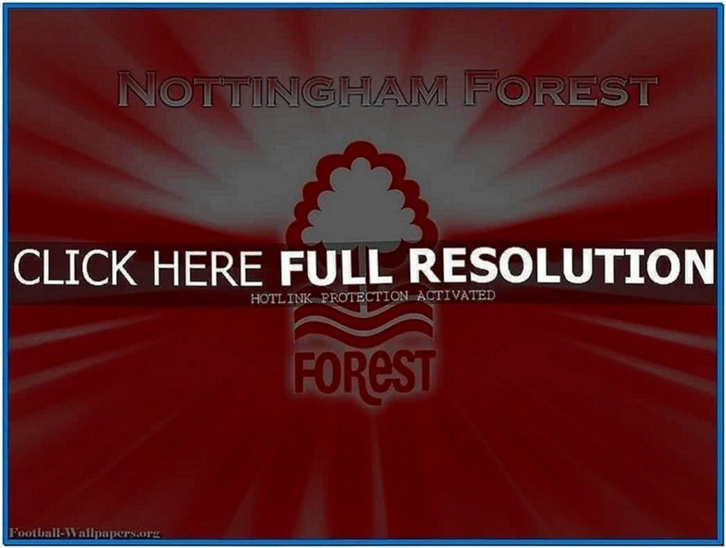 Nottingham Forest Screensaver
