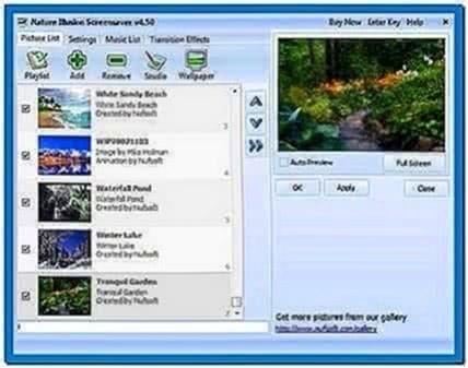 Nufsoft Nature Illusion Screensaver