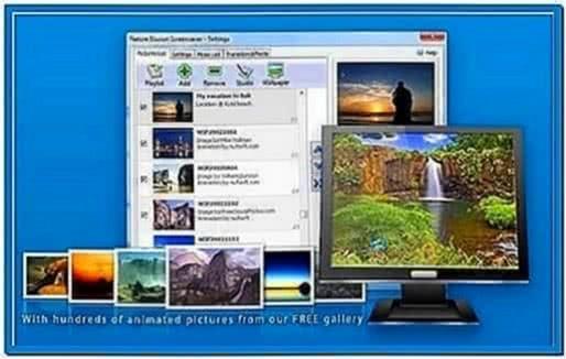 Nufsoft Nature Illusion Screensaver 4