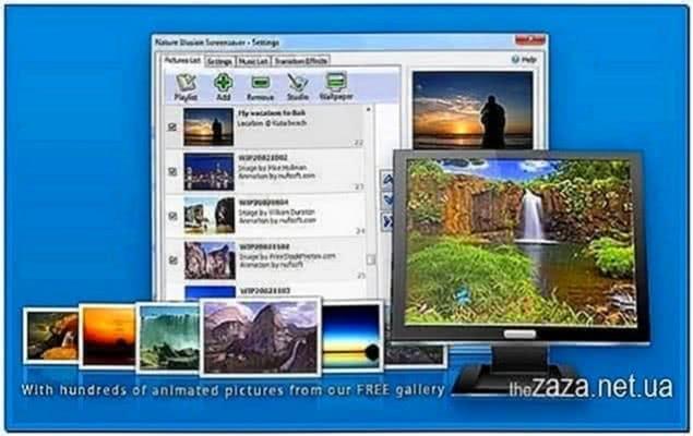 Nufsoft Nature Illusion Screensaver 4.50