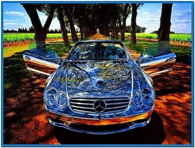 Official Mercedes Screensaver