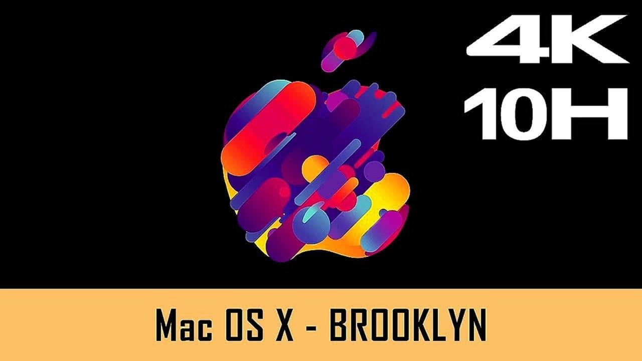 Mac OS X Screensaver 4K