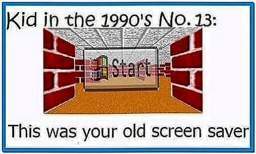 Old Windows Screensaver