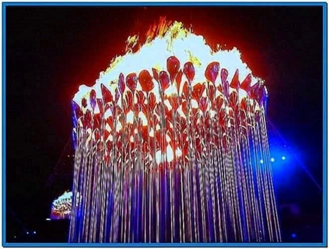 Olympic Cauldron 2020 Screensaver