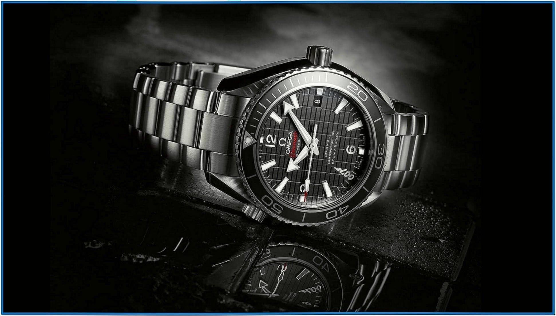 Omega watch screensaver