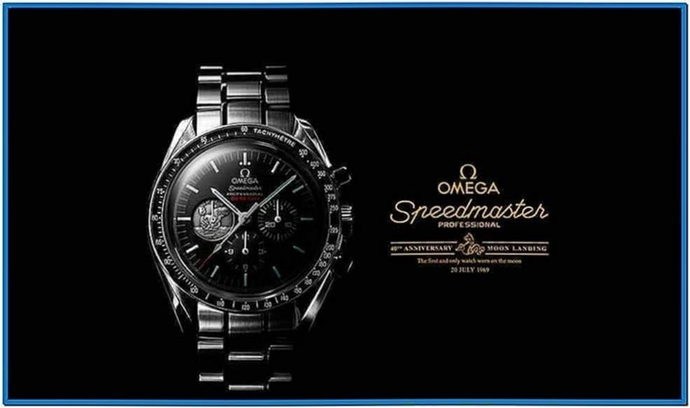 Omega Watch Screensaver