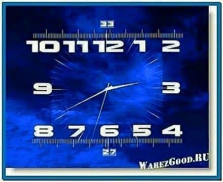 Ort Clock TV Screensaver