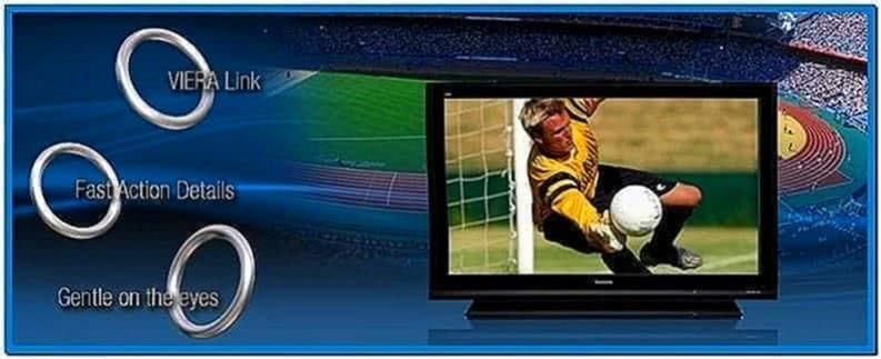 Panasonic plasma tv screensaver