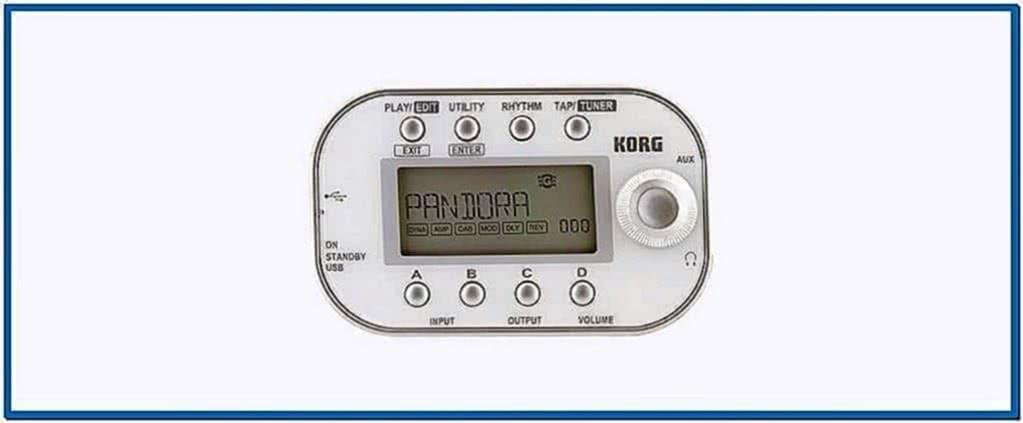 Pandora mini screensaver